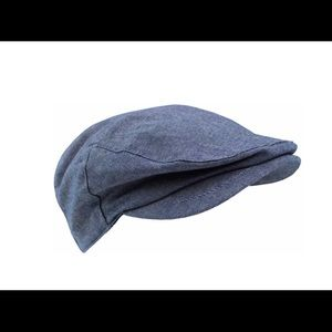 Other - Chambray kids pageboy hat